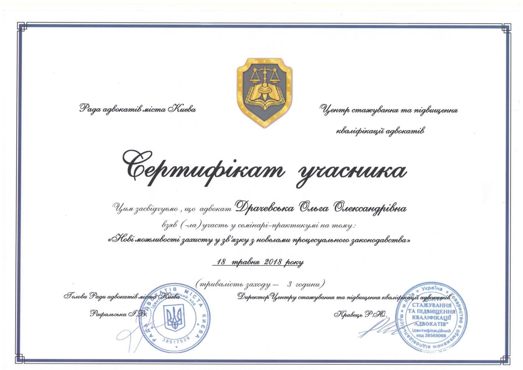 Драчевская Ольга, Drachevska Olga