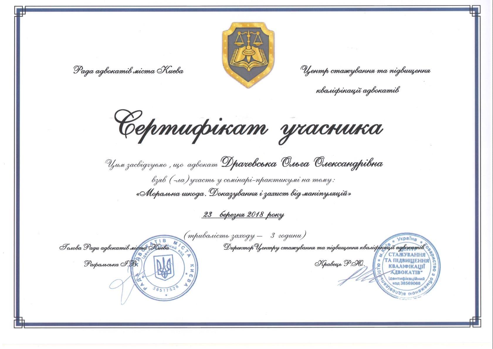 Drachevska Olga, Ольга Драчевская